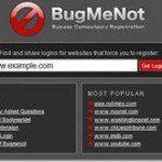 BugMeNot – Navegue na Internete sem formulários de registros obrigatórios