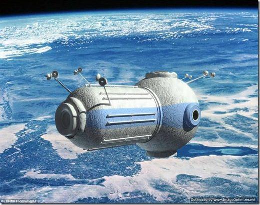 Que tal passar suas férias no espaço?