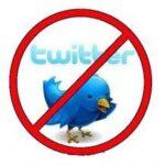 Como excluir um perfil do Twitter