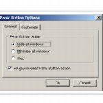 Botão de pânico: Esconda todas as abas do Firefox ou Chrome com um único clique