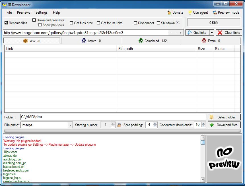 Como baixar todas imagens de álbuns do imagebam e mais 132 Image hosting de vez