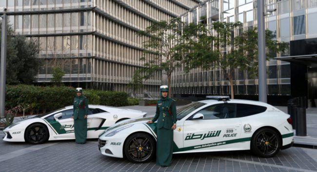 Ferrari de R$ 2,5 milhões vira viatura de polícia