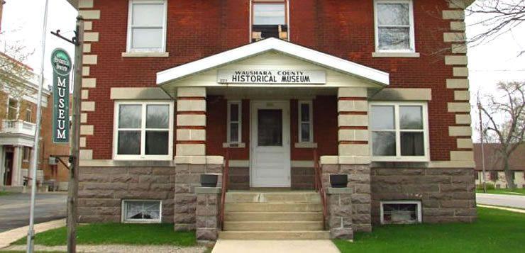 Museu Histórico do Condado de Waushara, em Wisconsin