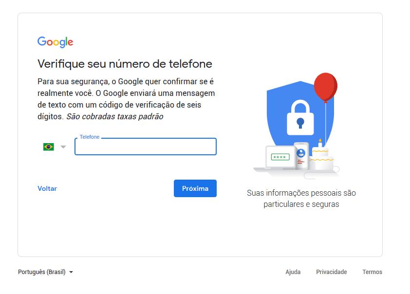 passo a passo Como criar uma Conta do Google AdSense