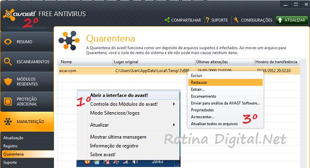 quaretena _do avast