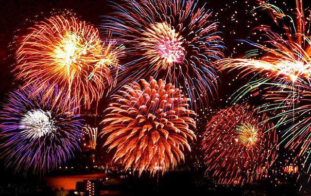 Fireworks - papel de parede para pc