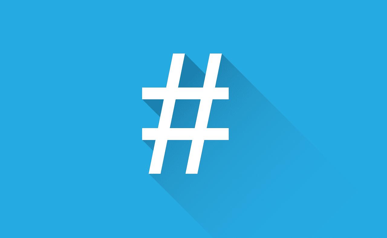 Você sabe o que é uma hashtag?