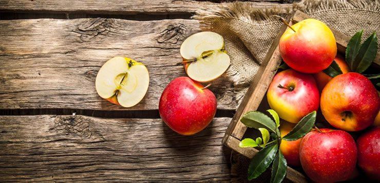 A maçã que conhecemos hoje é um híbrido de quatro tipos diferentes