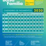 Bolsa Família 2020 Calendários de Pagamentos