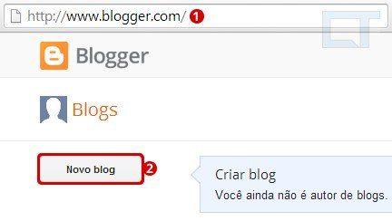 2a passo como colocar seu blog online