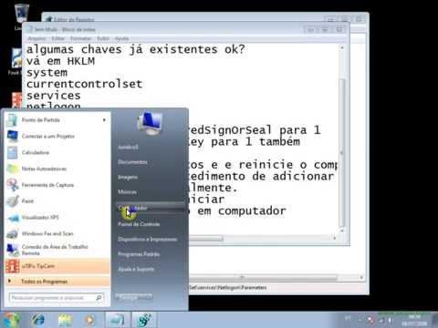 como colocar o windows 7 no dominio samba