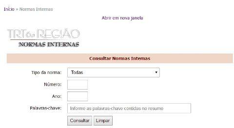 TRT6 Consultar processos PE www.trt6.jus.br