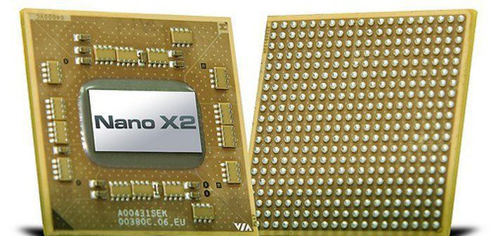 via anuncia processador dual core nano x2