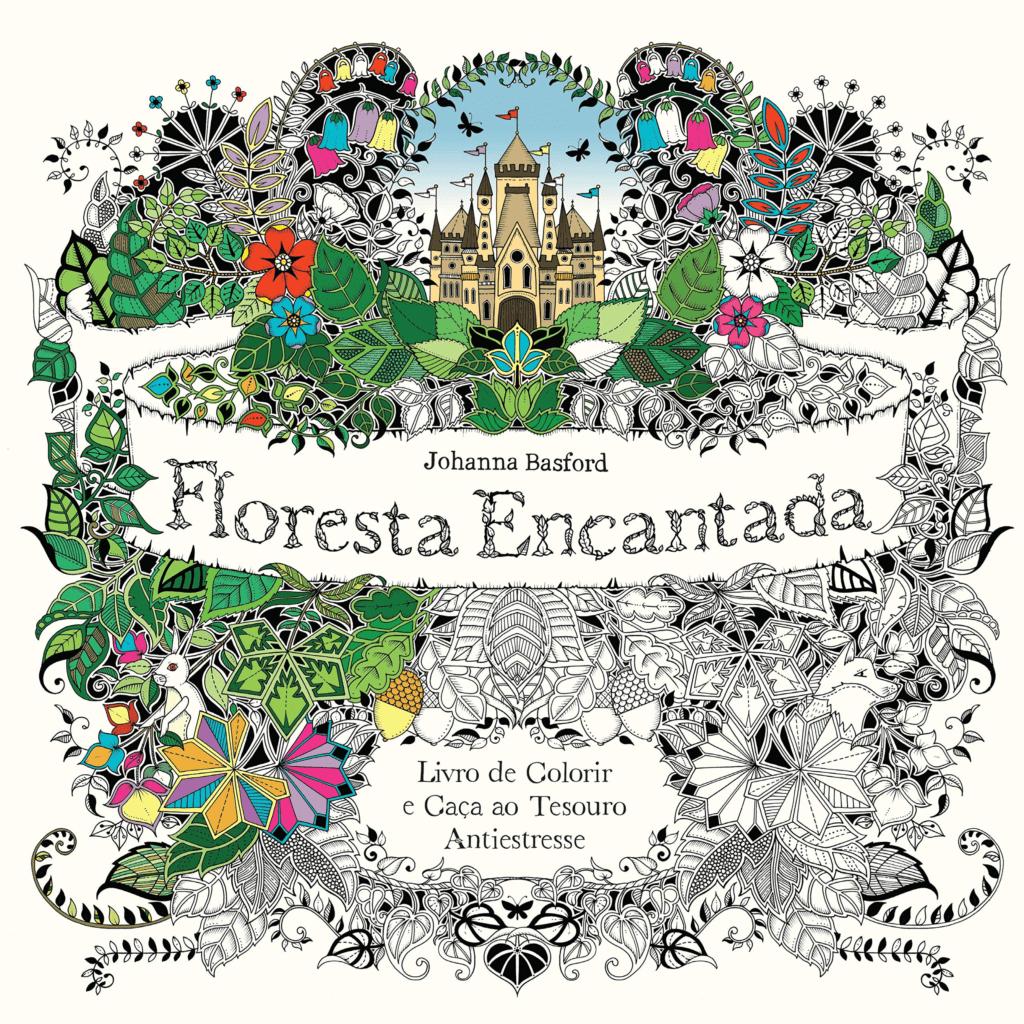 Floresta Encantada Editora Sextante Livro de Colorir