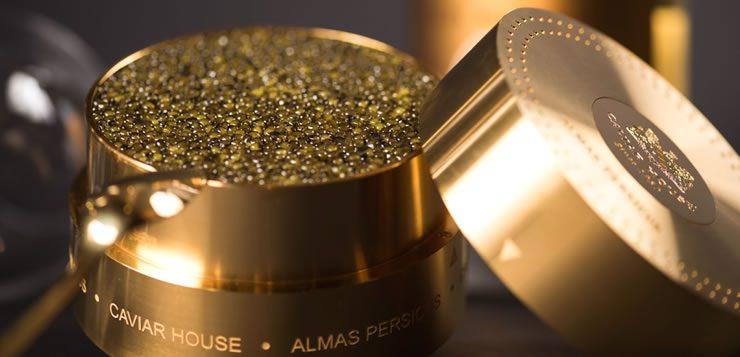 O caviar iraniano Almas é o caviar mais caro do mundo